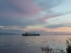 Закат на Амуре