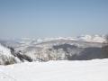 ГЛК Холдоми. Вид с верхней точки на горы в сторону Амута