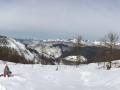 ГЛК Холдоми. Панорама на горы с верхней станции