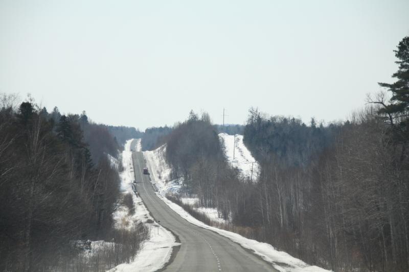 Извилистая трасса Хабаровск-Комсомольск