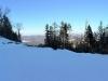 Панорама правой горы на верхней площадке