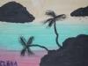 Пальмы и море от Лены