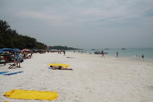 Пляж на острове Самет