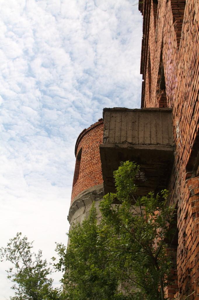 Вид на балкон.