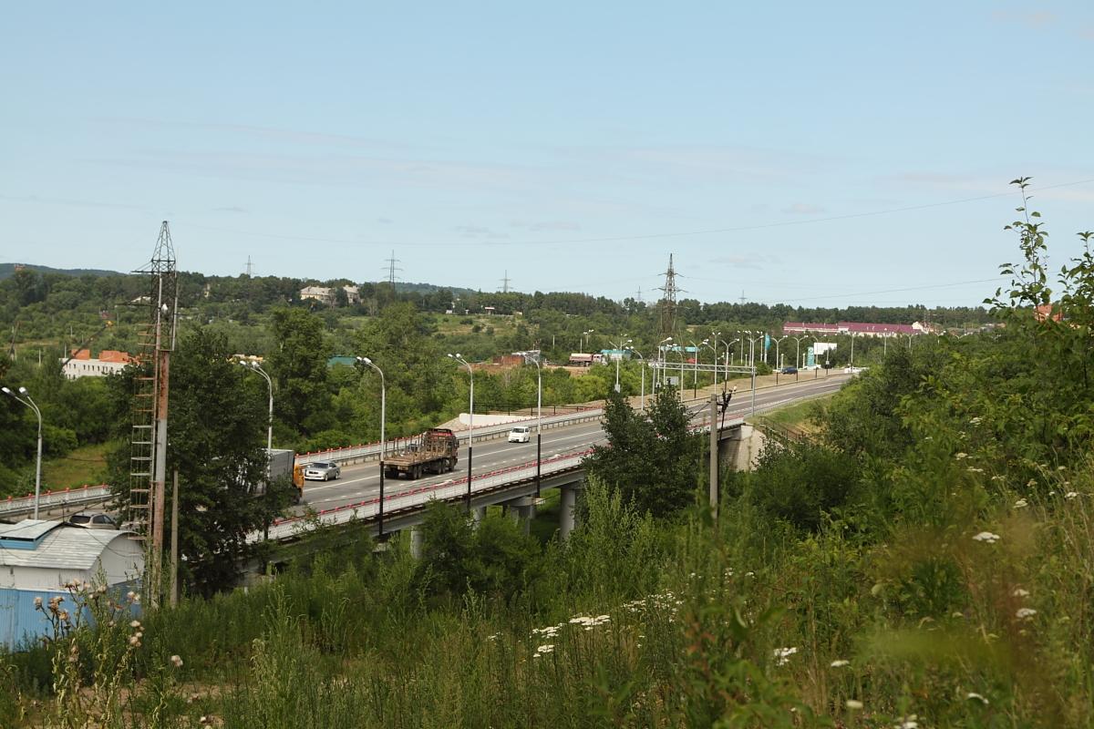 Трасса в Хабаровск